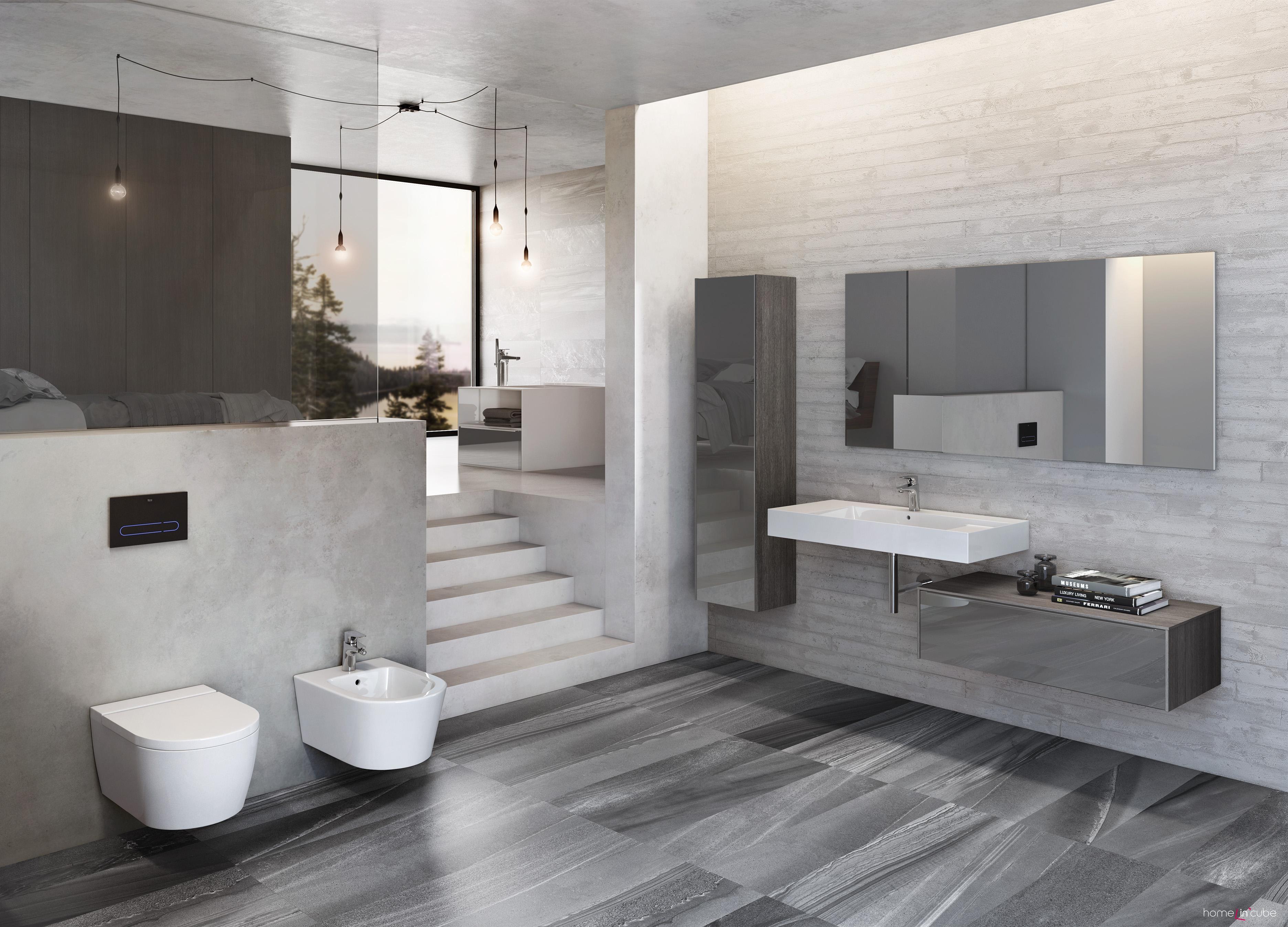 Los lavabos Roca y los lavabos sobre encimera | Laguardia & Moreira