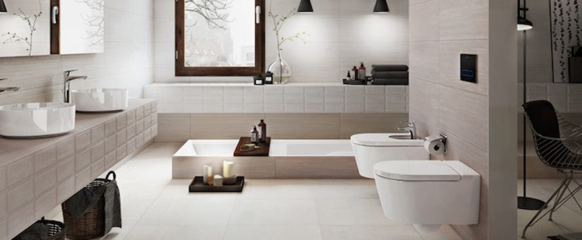 Tendencias de decoración 2017 para cuartos de baño de diseño