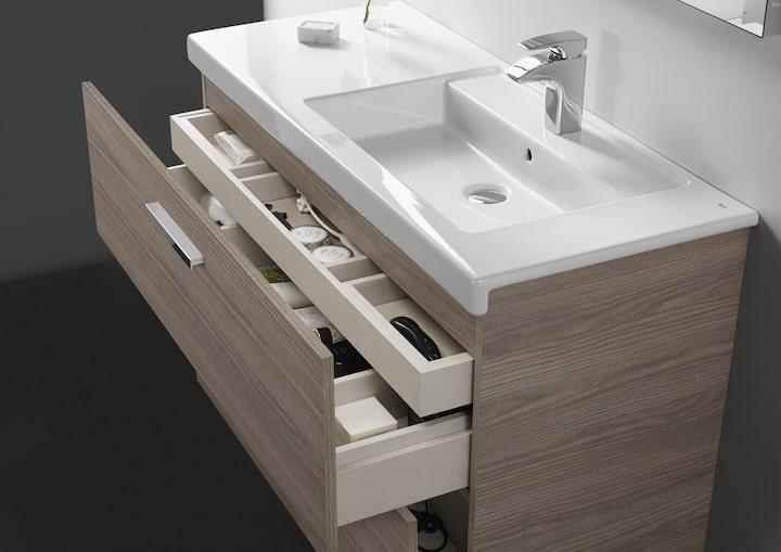 Mueble con compartimentos ROCA