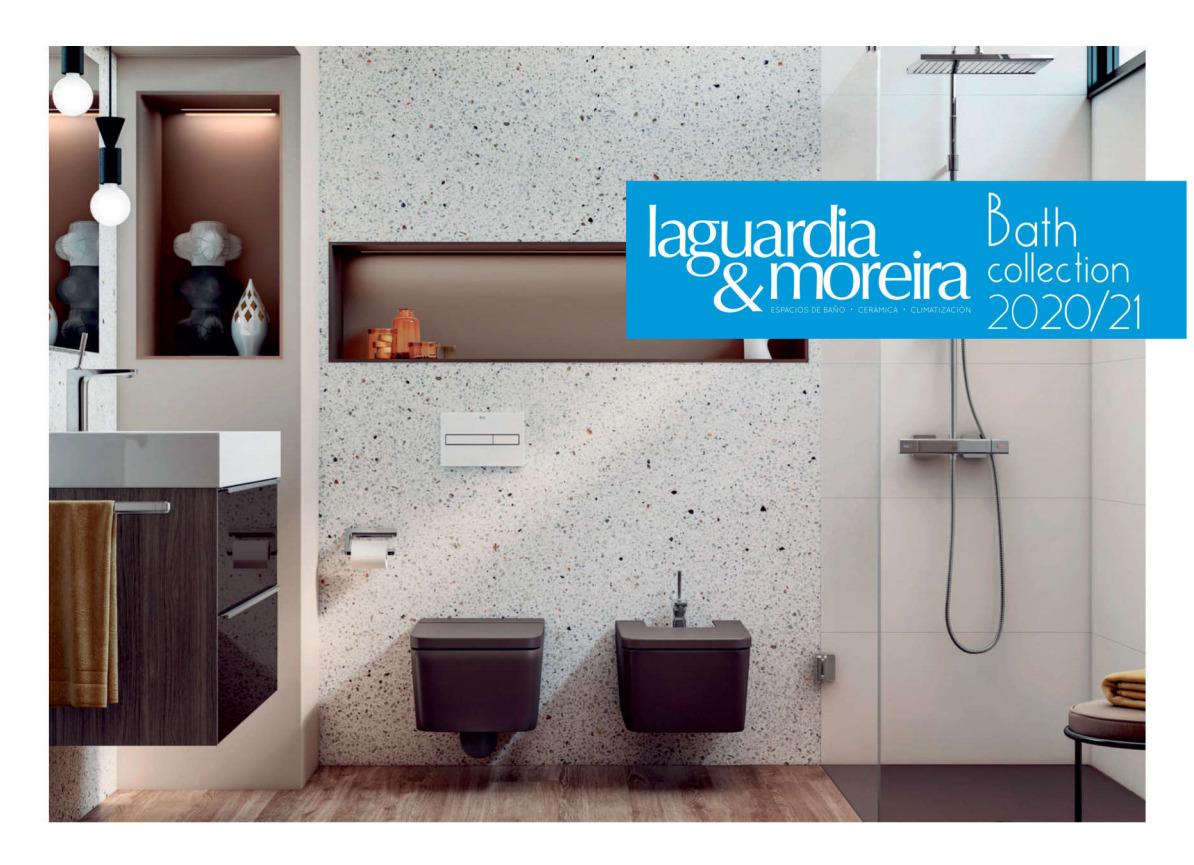 Portada Catálogo Baño Laguardia & Moreira 2020-2021