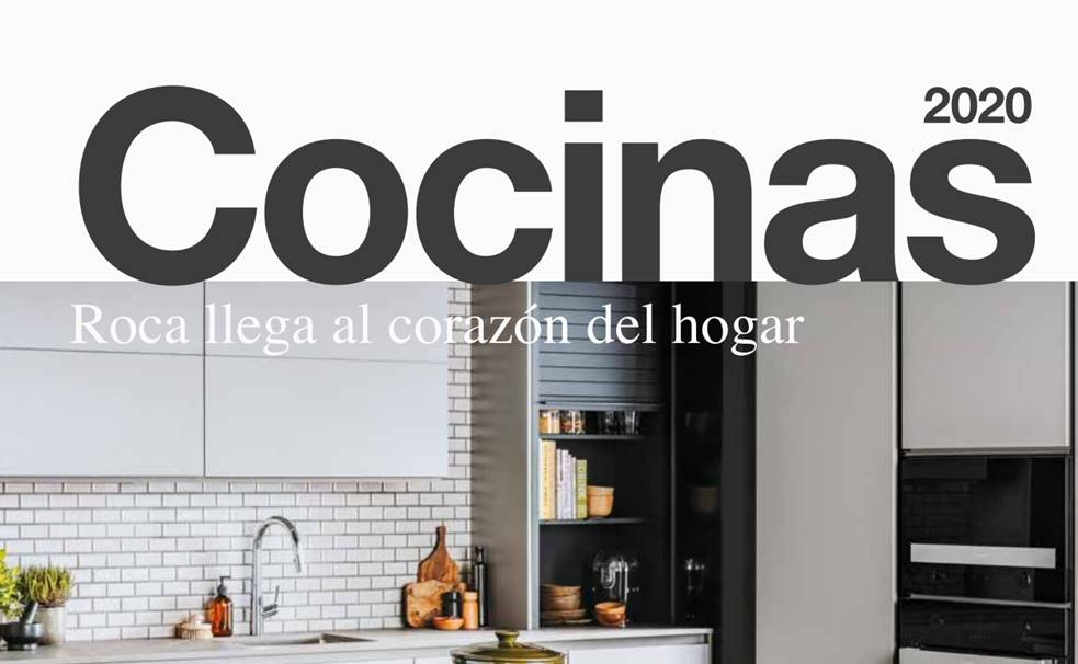 Portada Catálogo Cocinas Roca