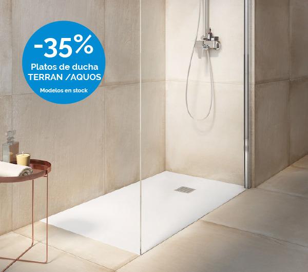 Platos de ducha ROCA con descuento en Laguardia & Moreira